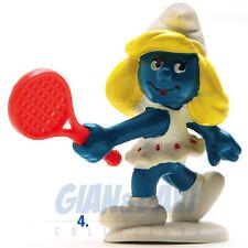 PUFFO PUFFI SMURF SMURFS SCHTROUMPF 2.0135 20135 Tennis Puffetta Tennista 4B