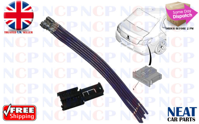 genuine peugeot rear light repair kit wiring connectors 1606248780 rh ebay co uk Wire Connector Types Wire Connector Types