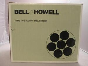 Bell-amp-Howell-10MS-Dual-8mm-Super-8mm-Std-8mm-Variable-Speed-Projector