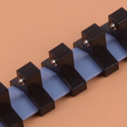 1//4/'/' 3//8/'/' 1//2/'/' Zoll-Antrieb Wandleiste Steckschlüsseleinsätze Aufsteckschiene