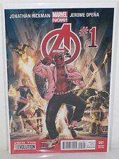 AVENGERS #1 - Rare Deadpool Gangnam Style Variant - J HICKMAN J Opena - Marvel