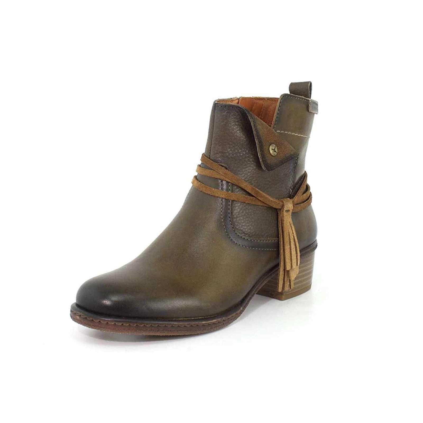 NEW Pikolinos Women's Women's Women's Casual shoes Leather Zaragoza Ankle Booties 1.5'' Heel bb0c3c