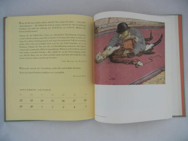 (a) . Paolo Weber Kritischer Calendario 1968 Clan Pressa Editore ( Meine