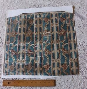Rare-French-18thC-Domino-Paper-With-Original-Manufacturer-039-s-Name-Chez-Benoist