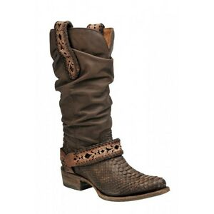a7ea51c8621 Details about 1X09PH Urban Python Western Boots by Cuadra Boots