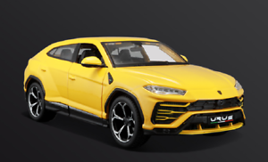 Maisto 1 24 Lamborghini Urus Yellow Diecast Model Racing Suv Car New