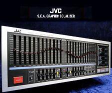 VINTAGE equalizzatore jvc sea-r7 2x12 NASTRO STEREO EQ S.E.A. Sound Effect amplifier