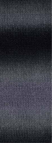 lana Grossa-Cashmere 16 Fine degradé FB 102 gris//negro 50 G Lana creativo