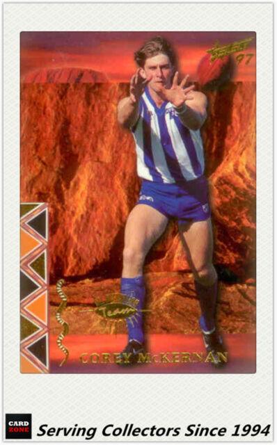 1997 Select Ultimate AFL Cards All Australia Team AA17: Corey McKernan (Nth Mel)