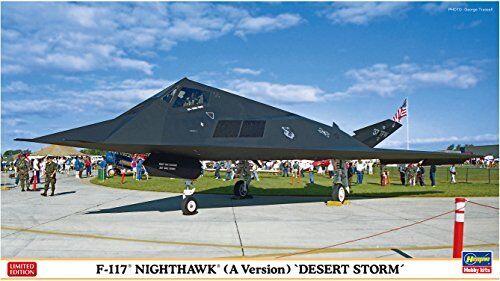 Hasegawa 1 72 F-117A Nighthawk Desert Storm Plastic Model Kit NEW from Japan