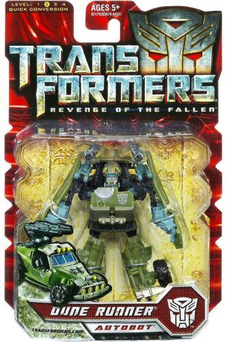 Transformers Revenge of the Fallen Dune Runner Scout Action Figure