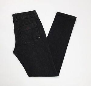 Miss-sixty-eden-jeans-donna-usato-skinny-slim-denim-W29-tg-42-43-nero-T3207