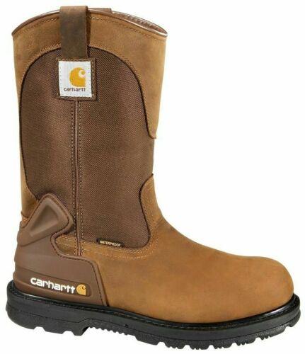 "Carhartt CMP1200 Men/'s 11/"" Steel Toe Wellington Boots All-Weather Work Shoes"