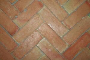 Fußboden Aus Ziegel ~ Handgemachte cotto ton terrakotta ziegel stein brikett zellige