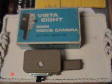 Vintage VISTA ELECTRIC EIGHT Pistol Grip 8mm Movie Camera & Original Box & Instr
