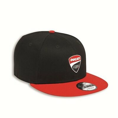Automobilia Autres Ducati New Era Snaparch Casquette Chapeau Noir Rouge Neuf A Plastic Case Is Compartmentalized For Safe Storage
