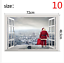 thumbnail 10 - 3D Merry Christmas Wall Decals Removable Window Stickers Decor DIY Art Xmas  *