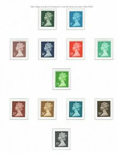 s24307) UK GREAT BRITAIN 1988 MNH** Complete year set (8 scans)