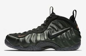 2b2caea3910 Nike Air Foamposite Pro Sequoia Green Black Team Orange Foams 624041 ...
