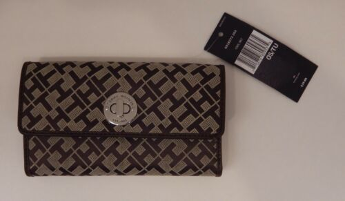 TOMMY HILFIGER WOMEN/'S WALLET CHOICE OF COLORS NEW CLUTCH PURSE CHECKBOOK