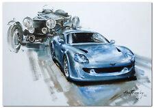 INVICTA CAR COMPANY S1 Collectors Postcard. FROM BRIT MOTORSHOW 2002