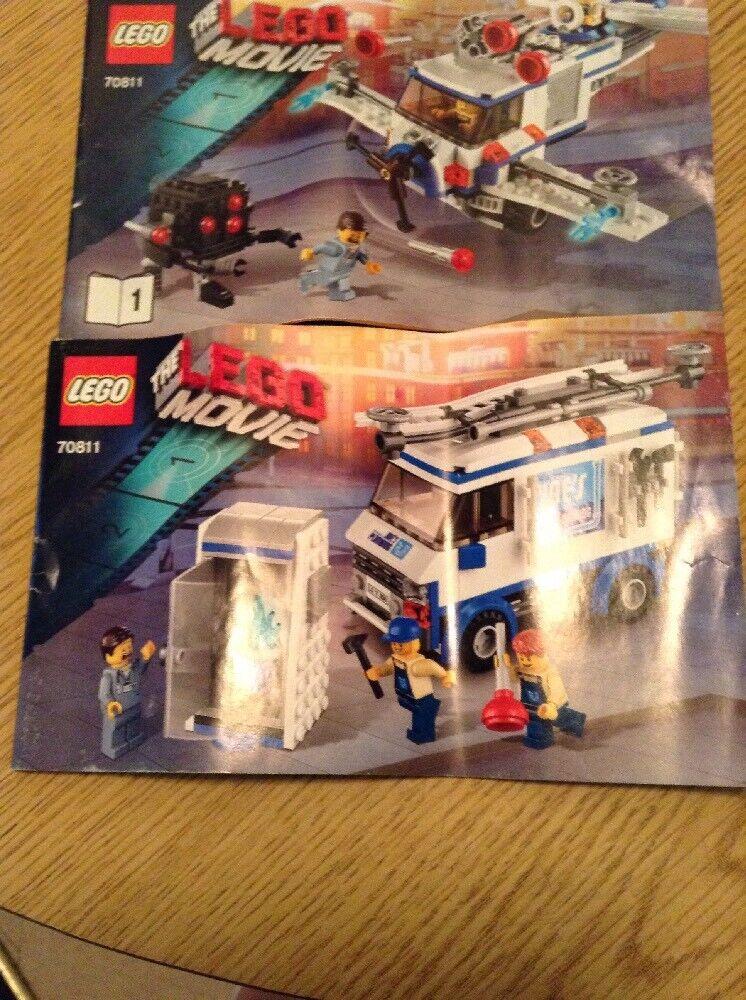 The Flying Flusher Sticker Sheet Lego 70811 The Lego Movie