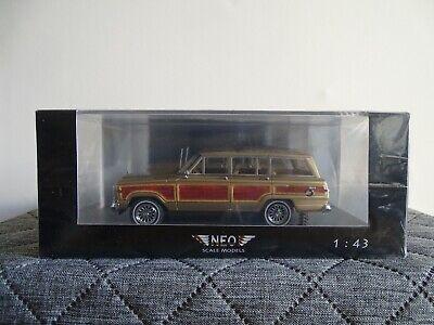1//87 Brekina Jeep Wagoneer Woody hellelfenbein 19857