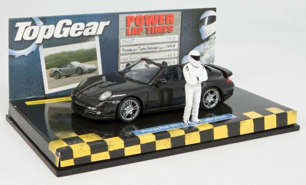 Minichamps 1 43  porsche 911 turbo cabriolet top gear