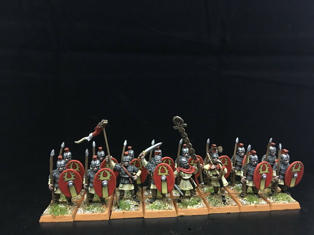 28mm Ancient WAB DPS Painted Imperial Roman Line Infantry  GH841