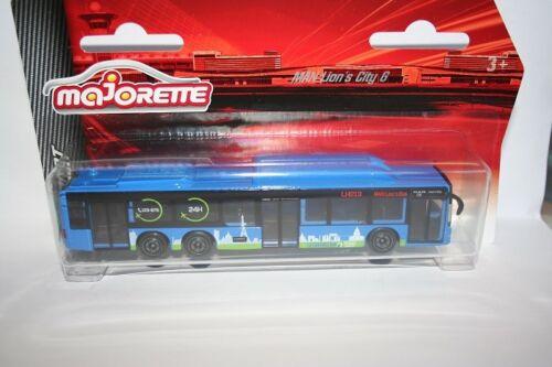 MAJORETTE 212057715-Airport Service-Man Lion/'s City G Bus-lh213-NUOVO