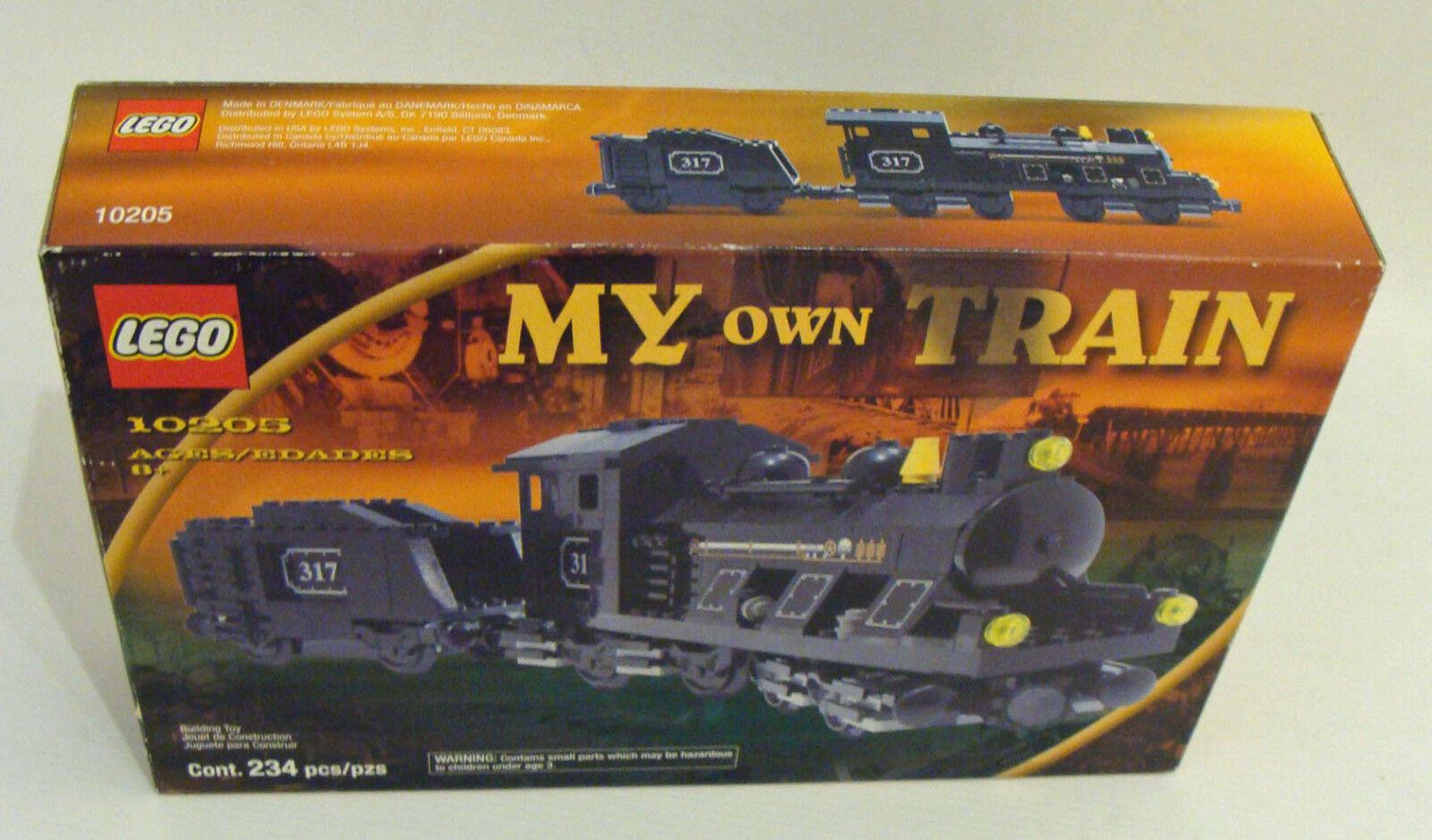 Lego® My My My own Train 10205 - Große Lok mit Tender 234 Teile 8+ - Neu 4235b9