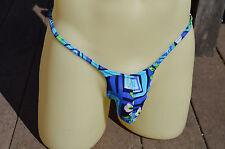 Dore Men's Micro-Back low pushout Front Bikini - Bulge Pouch Scrunch Cheeky Rio