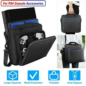 Travel Carry Case Pouch Shoulder Storage Bag for Sony PlayStation4 PS4 Console