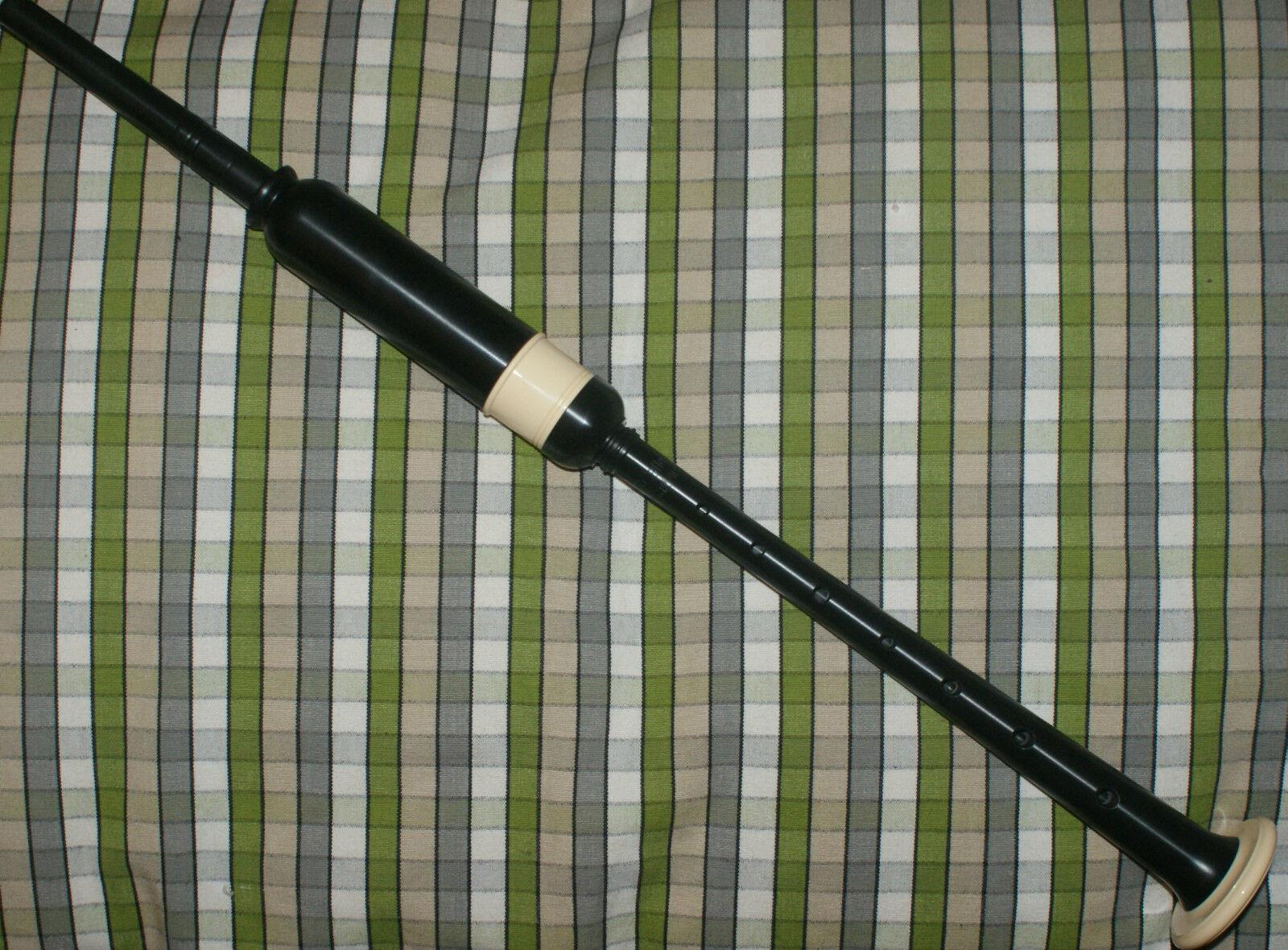 Mccallum Standardgröße Practice Chanter Elfenbein-Imitat Sohle Pressklemme