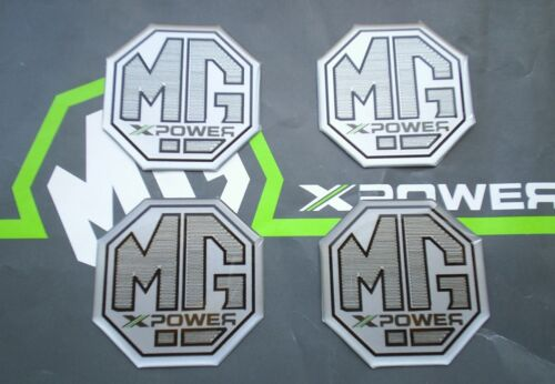 MGF MG F Alloy wheel centre badge inserts 4 off MG Sport /& Racing XPower
