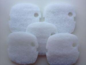 Pet Supplies 5 X Sunsun Hw-302 Esterno Mezzo Filtrante Bianco Poli Filtro Lana Assorbenti Selected Material Fish & Aquariums
