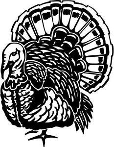 Cars For Sale In Md >> turkey bird meat thanksgiving wild hunting gun VINYL DECAL ...