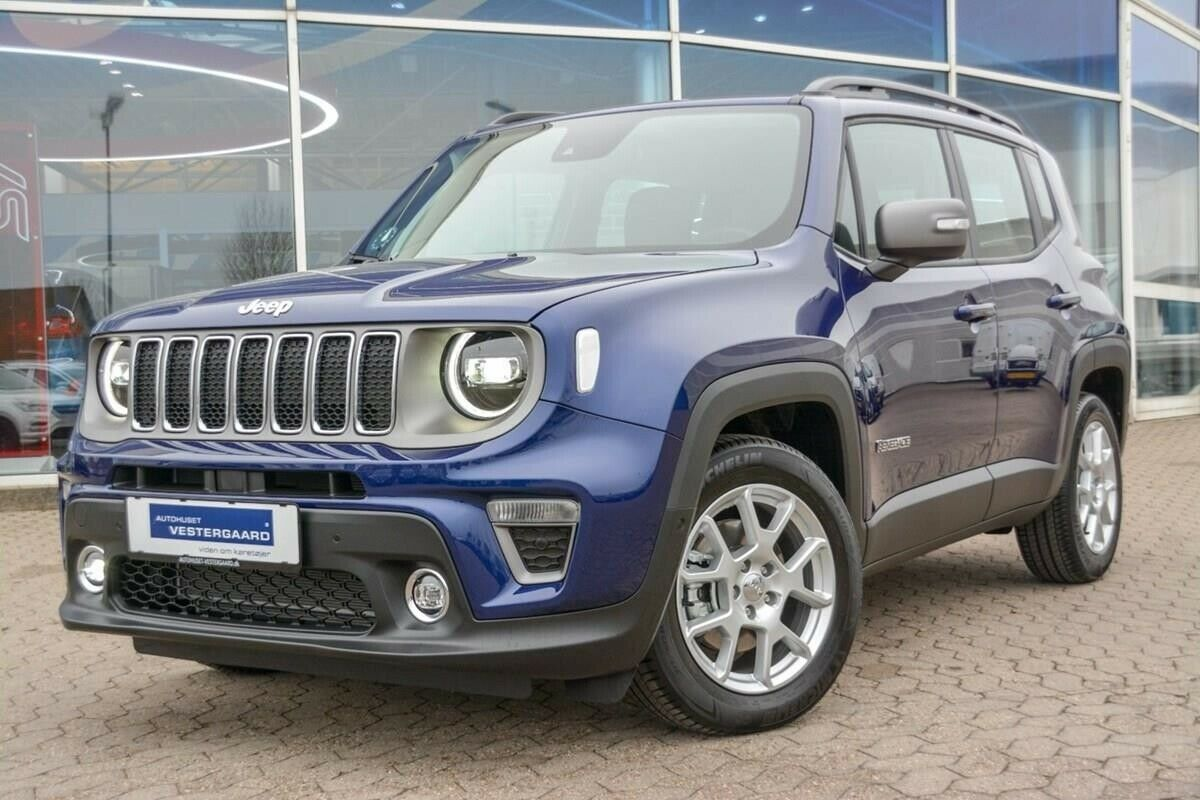 Jeep Renegade 1,3 T 150 Limited First Editon DCT 5d