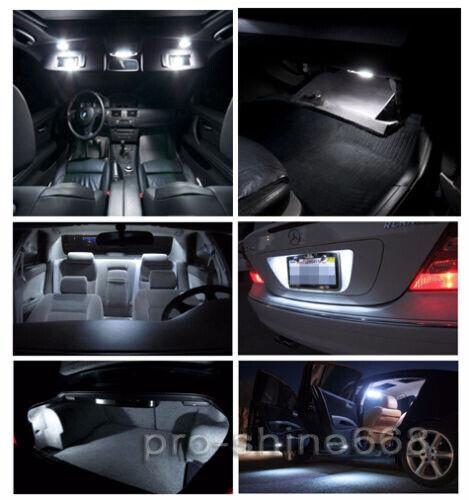 Premium 6000K White Interior LED Lights Package Bulb SMD For 13-2015 Dodge Dart
