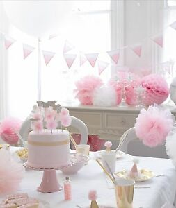 Image is loading WE-LOVE-PINK-Party-Tableware-Decorations-Birthday- Christening- & WE LOVE PINK - Party Tableware Decorations Birthday Christening ...