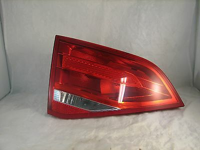 Red LED Tail Light Rear Left(Inner Side)Driver For A4 S4 B8 08 09 10 11 12