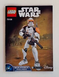 INSTRUCTIONS-ONLY-LEGO-Star-Wars-75108-manual-book-from-set