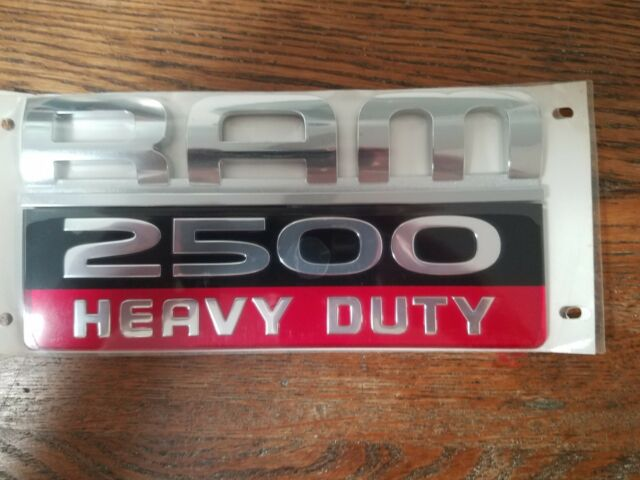 Dodge Ram 2500 Heavy Duty Emblem