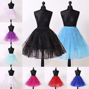 Petticoat-Tuellrock-Reifrock-Tuetue-Ballettrock-Unterrock-Gr-32-bis-58-mehr-Farben