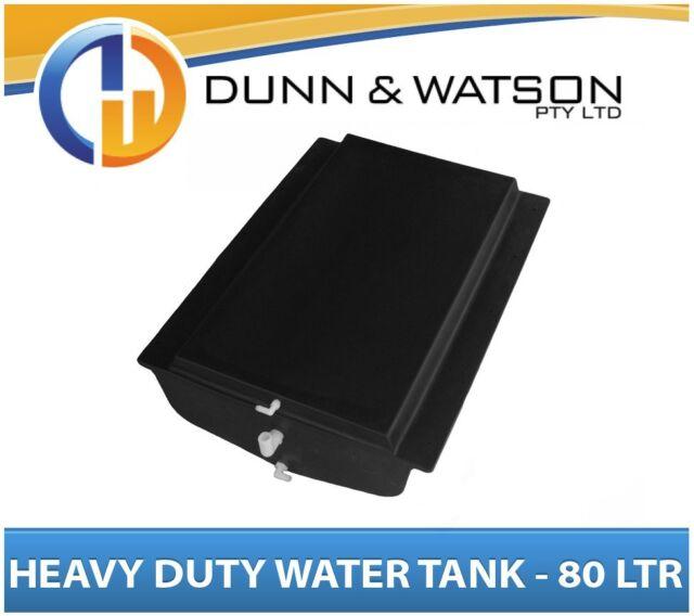 Heavy Duty 80L Litre Poly Water Tank - Camper Trailers Caravans 4x4 4WD Truck