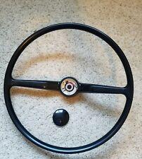 Type 2 Bay EX Steering Wheel Black VW Brazil Kombi