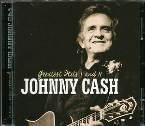 JOHNNY-CASH-GREATEST-HITS-I-AND-II-2-CD-BOX-SET-RING-OF-FIRE-amp-MANY-MORE