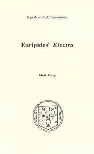 Euripides' Electra, Paperback by Cropp, Martin, Like New Used, Free shipping ...