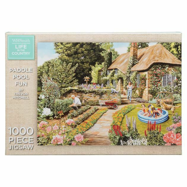 Buy King Bed Of Flowers Jigsaw Puzzle