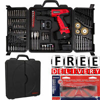 Cordless Drill 18v 89pc Kit Case Battery Portable Driver Bundle Power Tool